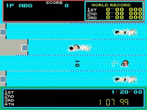 Los 25 mejores juegos arcade de los 80: Hyper Sports